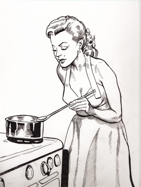 So there you have it a step by step on marilyn cooking up a storm
